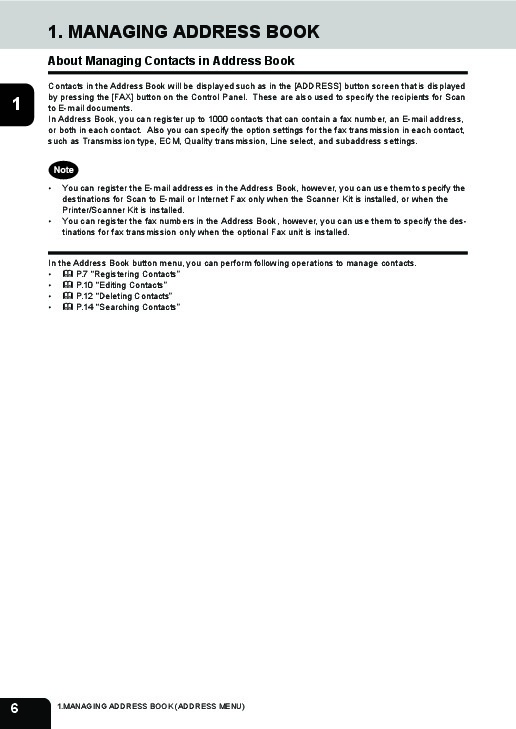 Toshiba estudio 452 Service manual