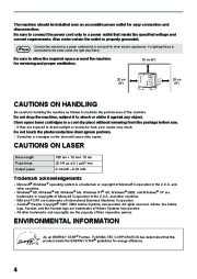 Toshiba E-Studio 161 Printer Copier Owners Manual page 10