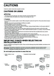 Toshiba E-Studio 161 Printer Copier Owners Manual page 9