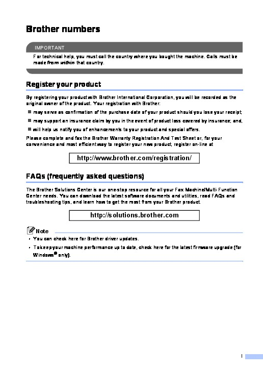 pdf download pdf manual brother personal fax 275