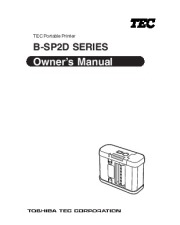 Toshiba TEC B-SP2D Portable Printer Owners Manual page 1