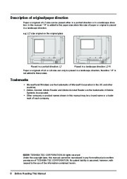 Toshiba E-Studio 2500c 3500c 3510c Printer Copier Owners Manual Owners Manual page 8