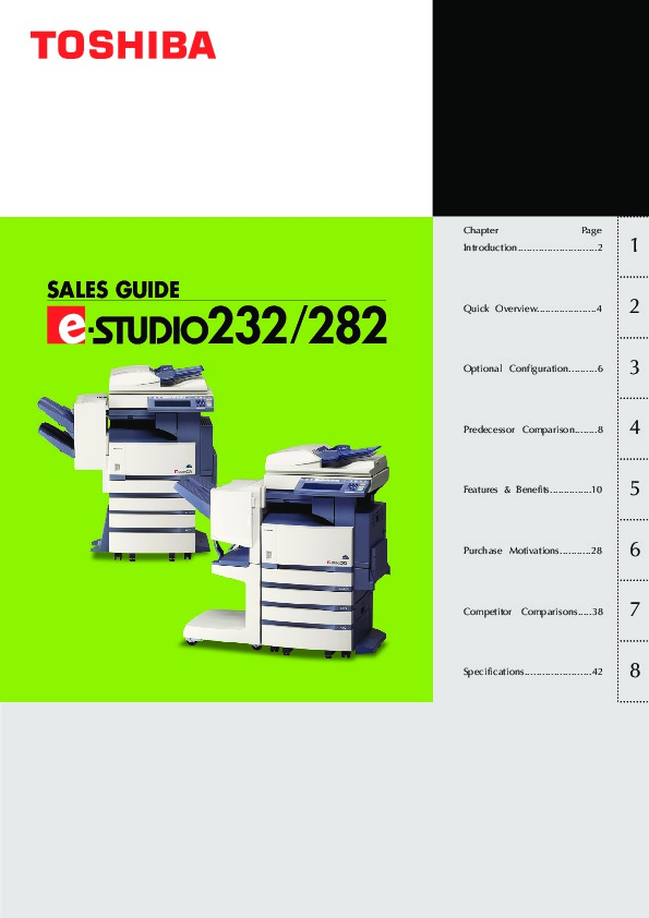 toshiba e studio 232 282 printer copier owners manual rh computer equipment needmanual com Toshiba Photocopiers E 195 Toshiba Photocopiers E 195
