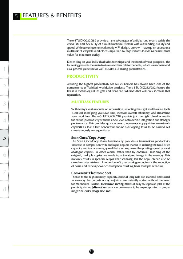 toshiba e studio 232 282 printer copier owners manual rh computer equipment needmanual com Paperwork Guide Samsung User Manual Guide