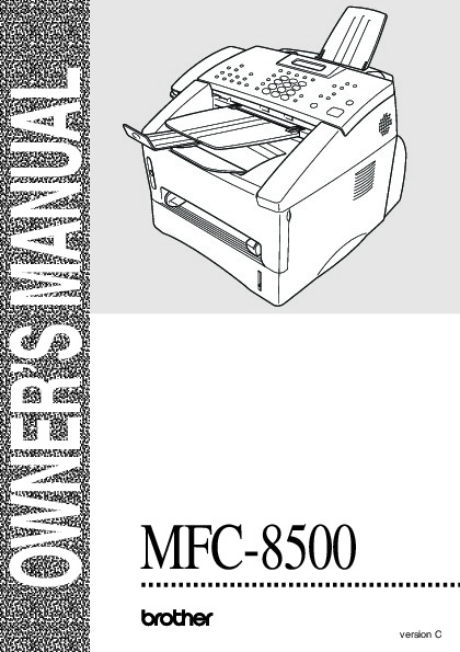 pdf download pdf manual brother personal fax 275